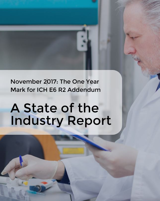 The ICH E6 R2 Addendum - a State of the Union Report